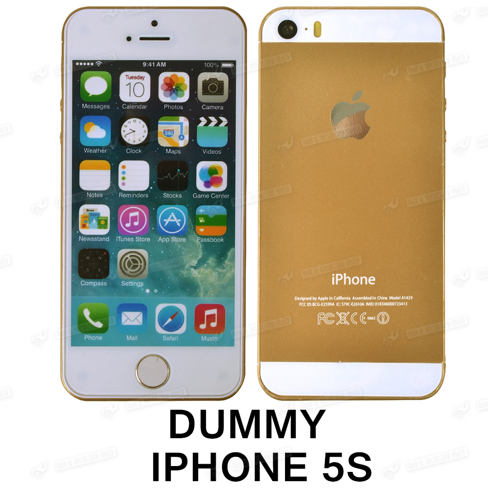 Gold Dummy Display Fake Cell Phone Toy Model Non Working ...